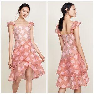 🆕 Alice + Olivia Azura Waterfall Ruffle Dress 12